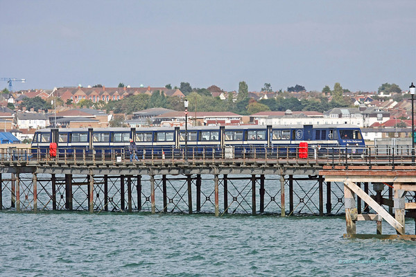 Southend Pier Railway 2nd October 2009