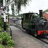 "No 823 ""Countess"" preparing for next departure from Llanfair"