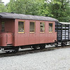 Spare rolling stock at  Llanfair Caereinion