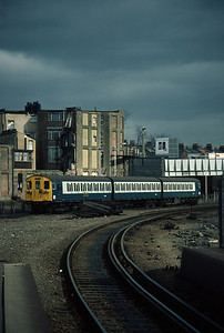 501 188 with 12.05 Richmond -Broad St Leaving Willseden 3/3/84