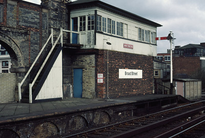 Broad St no 2 Signal Box 3/3/84