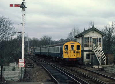 501 176 11.05 Richmond Broad St at Gospel oak 3/3/84