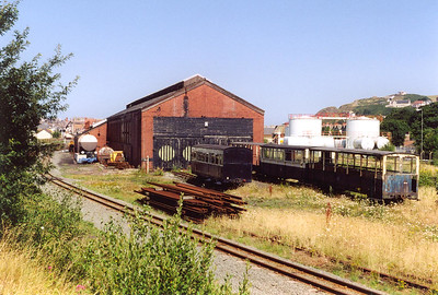 The former GWR steam shed just outside Aberystwyth station continues as a live steam shed.  The Vale of Rheidol Railway use it for their locos and coaches.