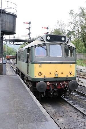 Class 25 diesel D7628 Sybilla at Grosmont