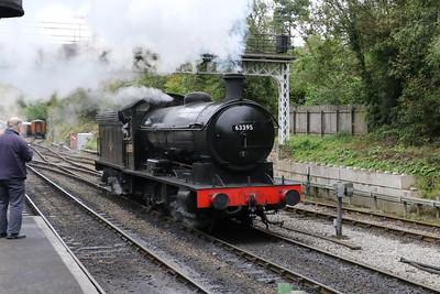 NER 0-8-0 Class T2/Class Q6 63395 at Grosmont