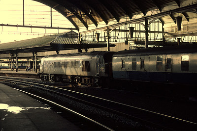 45023 11.43 Newcastle Bristol	 about to depart 28/11/81