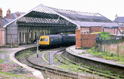 Another view of the erstwhile South Shields station, 9/5/81