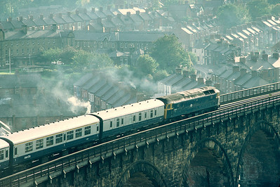 47453 leaving Durham with 1518 Newcastle - Liverpool 20/10/81