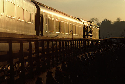 43171/43168 Plymouth Edinburgh arriving Durham – January 1981
