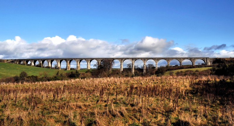 Craigmore Viaduct.<br /> The longest railway viaduct in Ireland.