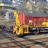 Railway equipment in Voss railway yard