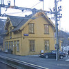 Vaksdal station from train to Voss from Bergen