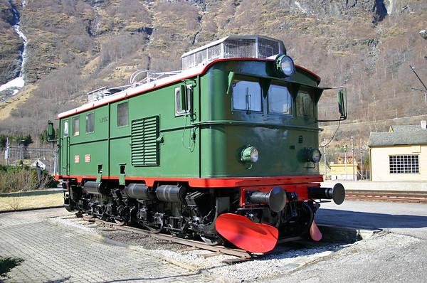 Flamsbana Railway 7th April 2004