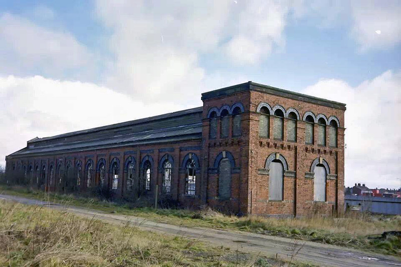 Yarmouth Vauxhall Goods Shed.
