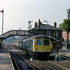 Brundall with the 1500 Norwich to Lowestoft leaving.  6th September 1979