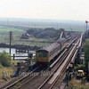Reedham Swing Bridge facing Lowestoft on 6th September 1979 with the 1400 Norwich to Lowestoft crossing.