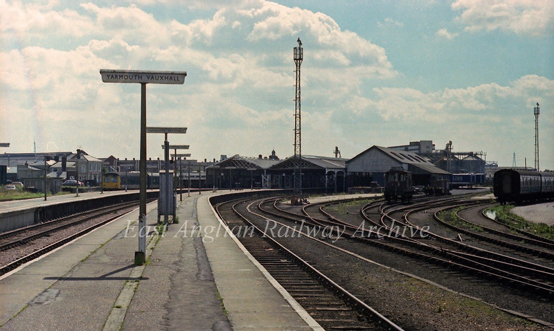 Yarmouth Vauxhall on 17th August 1978.