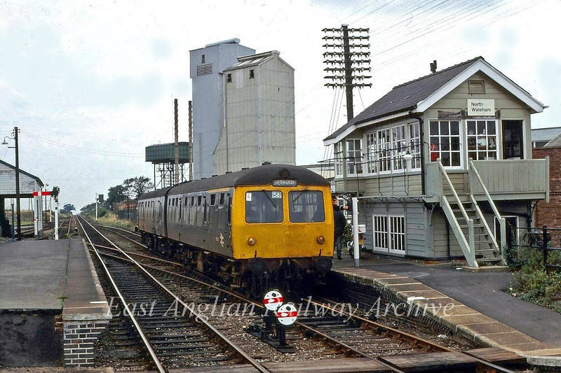 Taking the token at North Walsham c1982
