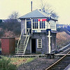 Cromer signal box on 15th March 1980.