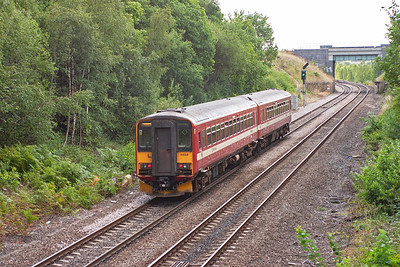 155341 works 2F67 1038 Wakefield Kirkgate to Knottingley service.