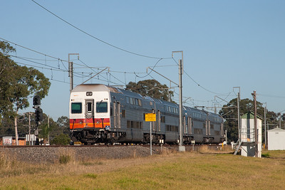 V38 heading towards Central