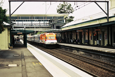 XPT arrives at Penrith