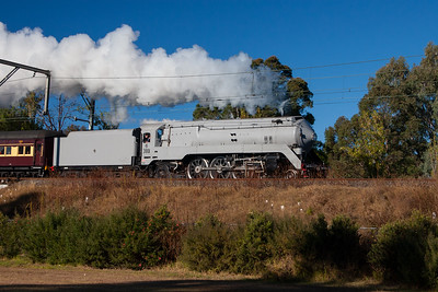 3801 steaming along