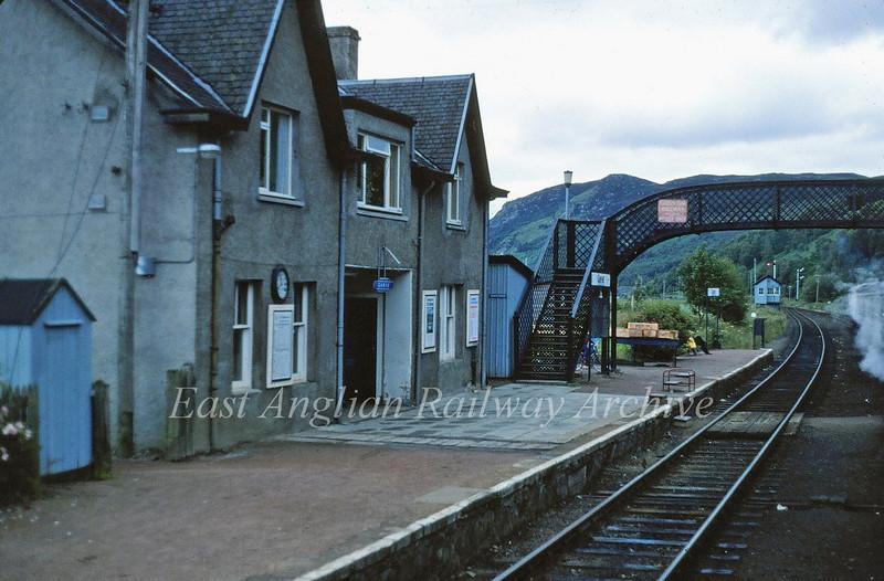 Garve Station.