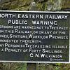 Public Warning Sign