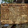 Midland Railway Sign