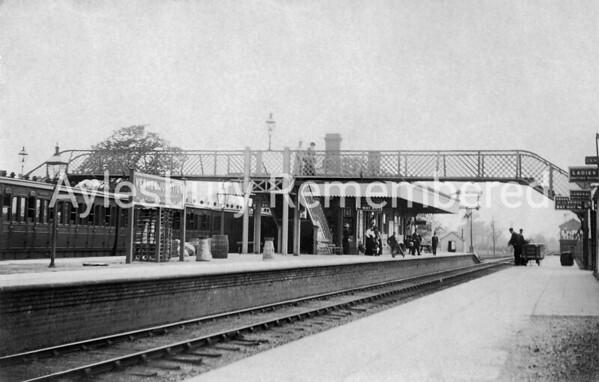 Verney Junction Station, c1910