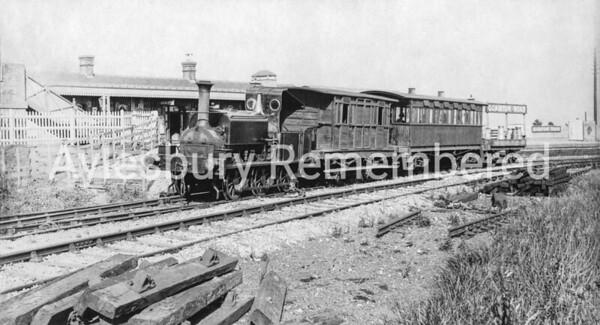 Quainton Road Station, c1896