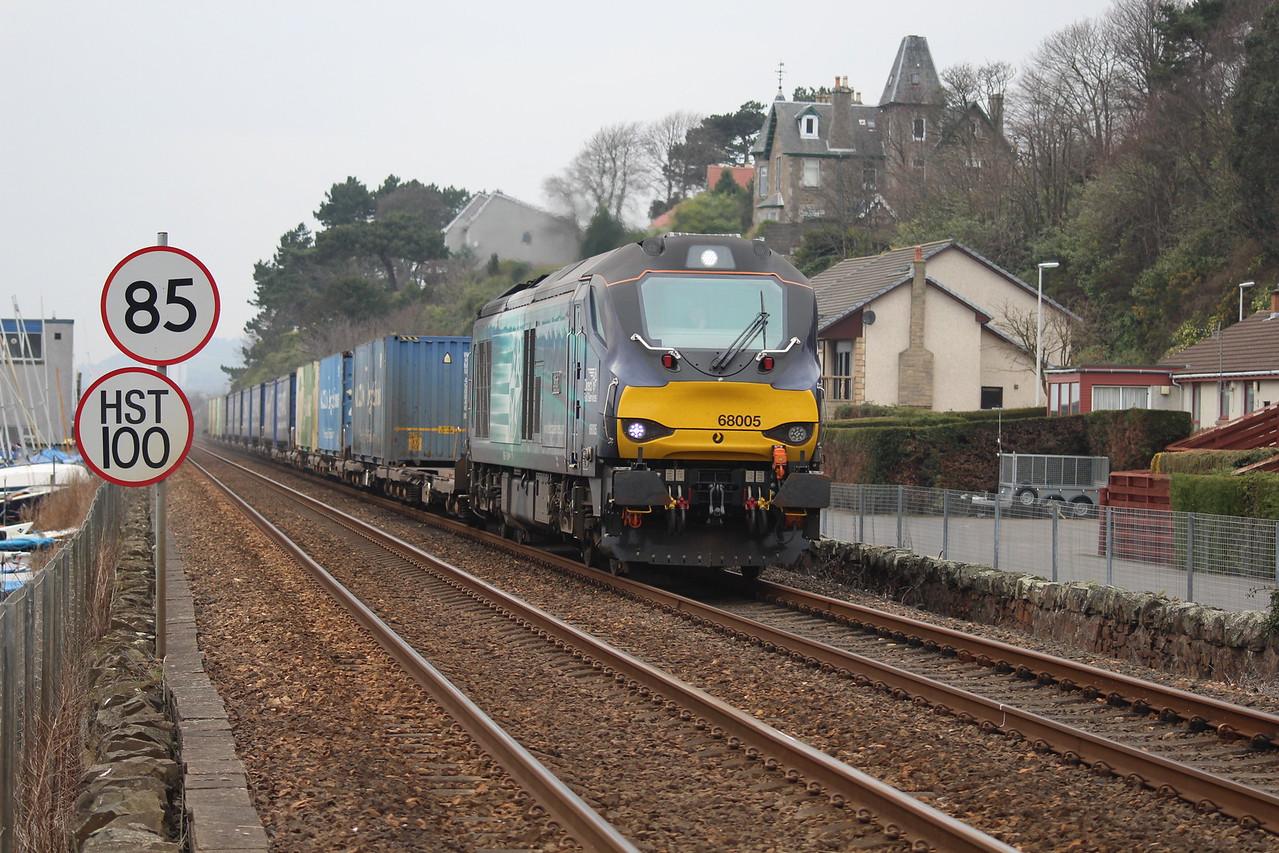 68005 4A13 Grangemouth - Aberdeen