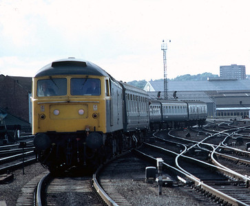 47471 at Leeds  1305 Liverpool Scarborough  25/9/82