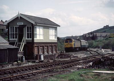 47555 passing Marsden box 07.45 Scarborough Liverpool  14/5/83