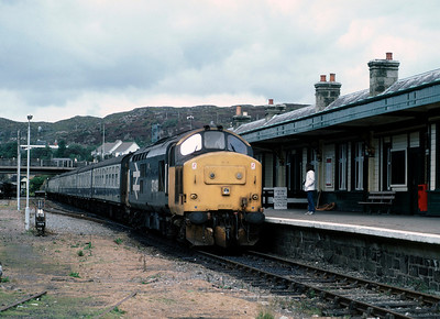 37419 at Kyle of Localsh 30/8/86
