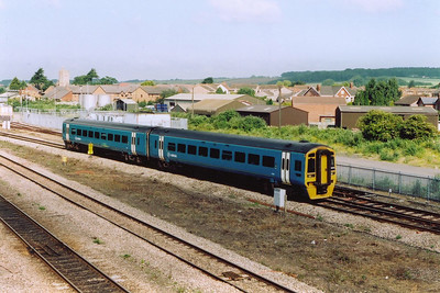 Arriva Trains Sprinter 158820 takes the Up Tunnel Road with 0900 off Cardiff Central to Bristol Temple Meads.  I believe the working to be correct but I couldn't find the headcode.