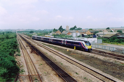 A class 180 Adelante unit, 180104, takes the Up Tunnel Road with a working from Cardiff to London.  The train is 1L46 0955 Cardiff Central to Paddington.  These sets are rated at 125mph and are said to be very comfortable.  I have not been on one so can not vouch for this.