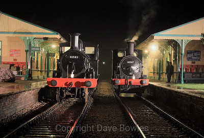 15th March 2019. Evening shoot at the Bluebell's Branchline Weekend