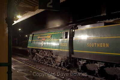6th November 2005. 55 & 21C123, Bluebell Railway