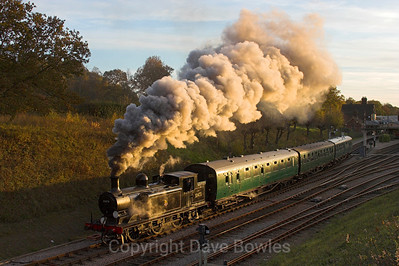 14th November 2005. 32473 on the Bluebell Railway.