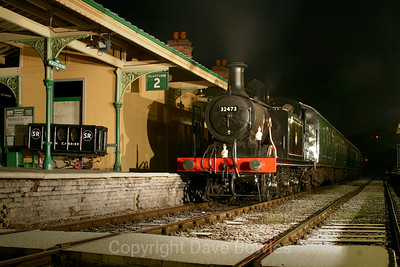 21st February 2005. E4 32473 at the Bluebell.