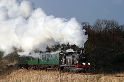 22nd February 2005. 32473 on the Bluebell