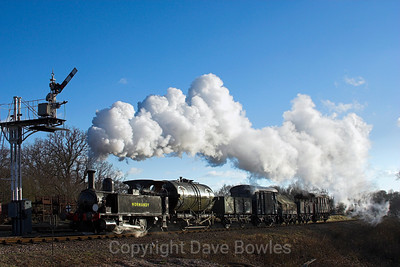 26th February 2006. Bluebell's Branch Line Weekend