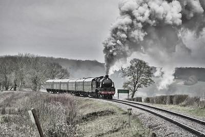 15th March 2020. 506 on the Mid Hants Railway.
