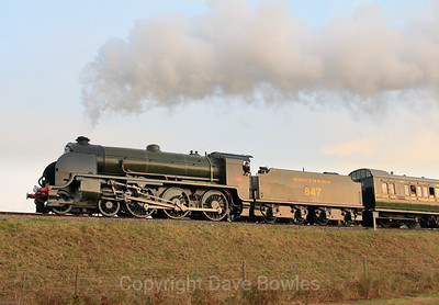 30th October 2016. Bluebell's Giants of Steam