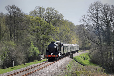 18th April 2019. Service trains on the Bluebell