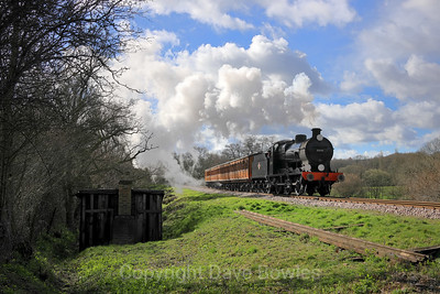 17th March 2019. Branch Line Weekend at the Blueball