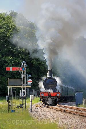 1st June 2019. Bluebell Railway.