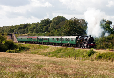 A last move to the field between Corfe and Norden and 80078 is recorded leaving Norden at 1710 running back to Swanage, 2S23.